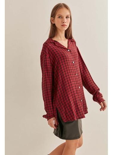 Vitrin Gömlek Kırmızı